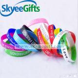 Wristband su ordinazione promozionale all'ingrosso poco costoso di vendita caldo del silicone della Cina