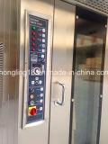 Prezzo rotativo del forno della cremagliera del pane elettrico del forno dei cassetti di alta qualità 32