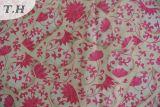 Tissu en velours tricot tricot 100% en polyester