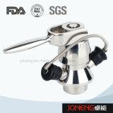 Válvula asséptica da amostragem do produto comestível de aço inoxidável (JN-SPV1002)