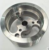 En aluminio mecanizado de precisión de piezas de repuesto