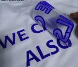 O logotipo da Marca de impressão por transferência térmica de etiquetas autocolantes para T-shirts