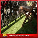 Relvado artificial sintético chinês natural do tapete da grama do futebol do futebol