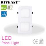 la parrilla de 24W 2*1 enciende el panel del LED con la luz del panel de Ce&RoHS LED
