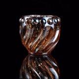 Goldglaskerze-Halter