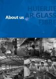 ARのガラス繊維の粗紡(ZrO2>16.5)