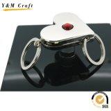 Nuevo anillo promocional regalo de metal 3D para empresas