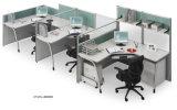 현대 똑바른 결합된 사무실 PC 컴퓨터 책상