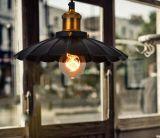 Lámpara pendiente única real industrial de la decoración de la barra del café de la vendimia