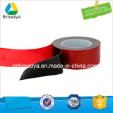 bande acrylique transparente de mousse de Vhb de film de rouge de 0.5mm*900mm*33m (BY3050C)