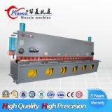 Chapa de Aço hidráulica guilhotina máquina de corte de Cisalhamento