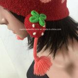 Мода шапочка для детей с ушками / Pompom / жаккардовой / Patch / Струны