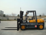 Грузоподъемник тепловозной платформы грузоподъемника 7 тонн тепловозный 7 тонн
