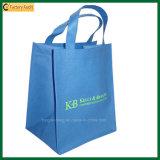 Preiswerter mehrfachverwendbarer biodegradierbarer bedruckbarer Einkaufstasche-nicht gesponnener Beutel (TP-SP322)