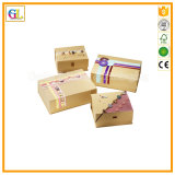 Boîte d'emballage haut de gamme de luxe pour cadeau