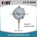 0-1 '' индикатор с круговой шкалой с 0.001 '' датчиками индикатора с круговой шкалой дюйма градации
