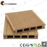 Decking plein réutilisé bon marché de composé de la Chine WPC