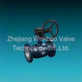 Изготовление Wenzhou шарикового клапана St. 37 фабрики Китая установленное Trunnion польностью сваренное
