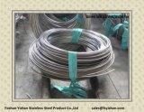 tubo de acero inoxidable 316L para el evaporador aire acondicionado o el cambiador de calor