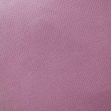 Couro Textured do plutônio da grão do futebol para a bolsa do caderno do saco da sapata