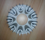 Pezzo fucinato freddo di alluminio per i dissipatori di calore della lampada del LED