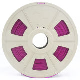 El pla de 1,75mm purple filamento de impresión 3D para la impresora 3D.