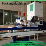 машина упаковки риса 50kg с ленточным транспортером и швейной машиной