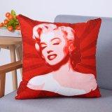 Het digitale Decoratieve Kussen/het Hoofdkussen van Af:drukken met het Afgedrukte Cijfer van Marilyn Monroe (mx-96)