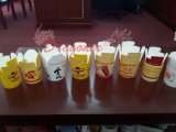 De meeneem Dozen van het Voedsel van het Restaurant voor de Deegwaren van de Rijst van Noedels (pnb-001)