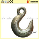 H331 Forged Steel Us Tipo Gancho de deslizamiento de la horquilla con pestillo