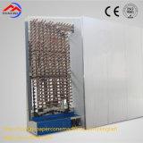 Cadena de producción Full-Automatic de giro del tubo del papel del cono de la transferencia especial de la circulación secadora