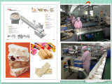 Хлопьяа Bar Oat Meal Chocolate Automatic Food Feeding и Packing Machine