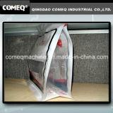 Plastiktasche, die Maschine für quadratischen unteren Reißverschluss-Beutel herstellt