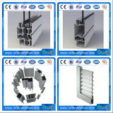 Perfil de aluminio para la puerta deslizante/la protuberancia de aluminio