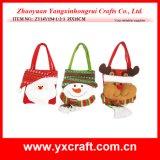 Poste de cadeau de pièce maîtresse de Noël de la décoration de Noël (ZY14Y55-1-2-3)