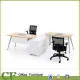Estação de trabalho modular da divisória da mesa da equipe de funcionários de escritório com Pedastal