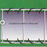 100%UV resistenza, rete fissa antivento del coperchio del balcone del PVC dello Stein-Optik 0.9m*6m