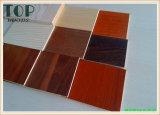 1220*2440 (4*8) madera contrachapada de la melamina del grano de la nuez negra de 3/3.6/4/5/6m m/de la ceniza/de la cereza con el pegamento de WBP para los muebles/la decoración