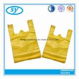 Kundenspezifische Plastik-HDPE Weste-Einkaufstasche