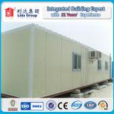Casas modulares do recipiente