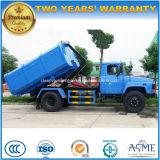 Dongfeng 4X2 8 tonnes à 10 tonnes de bras de crochet tombent le camion d'ordures
