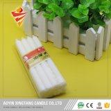 Fábrica blanca de la vela de la iluminación de China