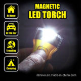 Torcia elettrica piana magnetica del PVC LED (RS7000)