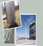 De gegalvaniseerde Toren van de Antenne van de Telecommunicatie Monopole