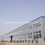 Juego completo taller de la estructura de acero de alta calidad y la construcción