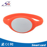 Bracelet imperméable à l'eau d'IDENTIFICATION RF de silicones de Muliticolor pour l'accès de Doood