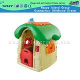 Brinquedos de plástico Mini adorável House filhos jogam equipamento (M11-09504)