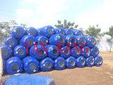 Grande depósito de água de plástico Sopradora