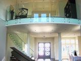 В полной мере безрамные закаленное стекло Balustradde/стекла поручни с 15мм закаленного стекла