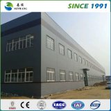 Magazzino prefabbricato della struttura d'acciaio del gruppo di lavoro di disegno d'acciaio chiaro della costruzione
